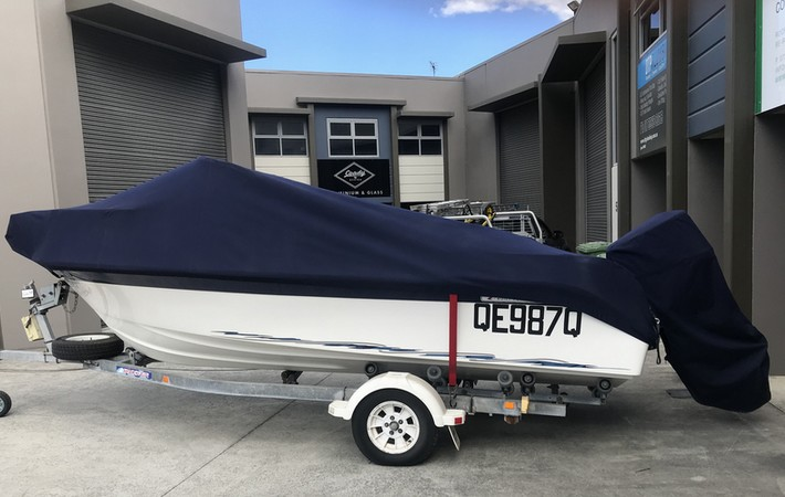Queensland Canvas & Marine. Custom made boat covers, clears and biminis.